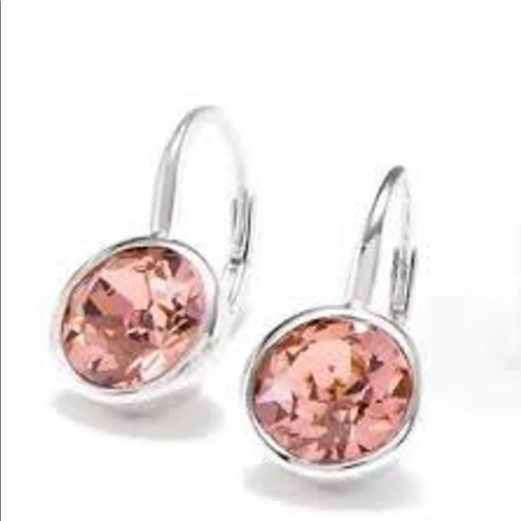 Origami Owl Jewelry - Exclusive Blush Rose Leverback Earrings